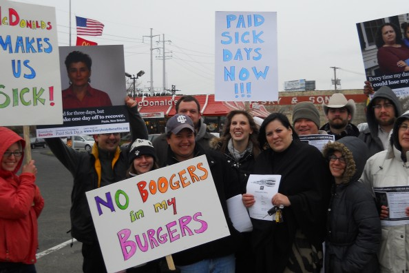Bridgeport McDonald's Rally