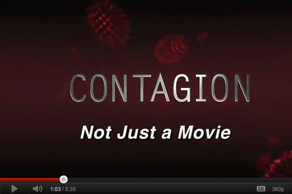 Contagion: Not just a movie