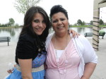 Shelby Ramirez and daughter