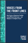 Voices from the front lines cover