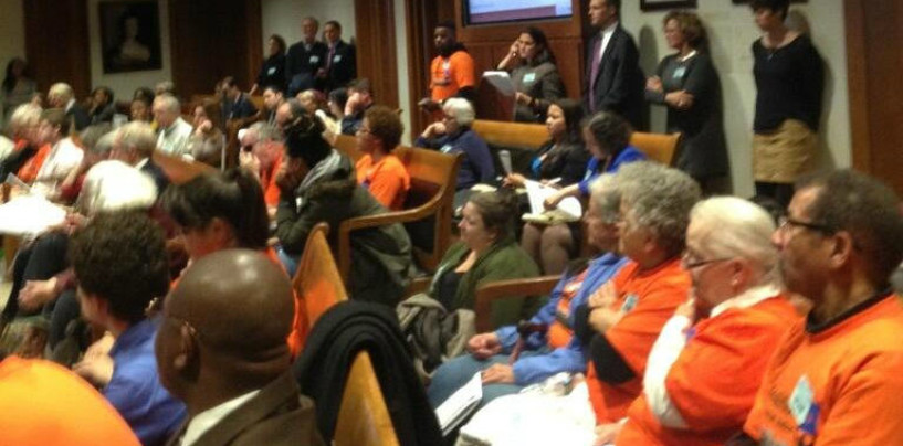 Dozens Testify for Paid Family Leave in MA, None Against