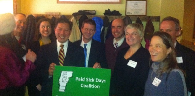 Vermont Passes Paid Sick Days Bill