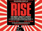 Women Workers Rising on International Women's Day