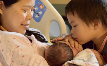 To-Wen – I Bonded With My Baby By Breastfeeding